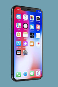 cool technology gadgets- iphone X