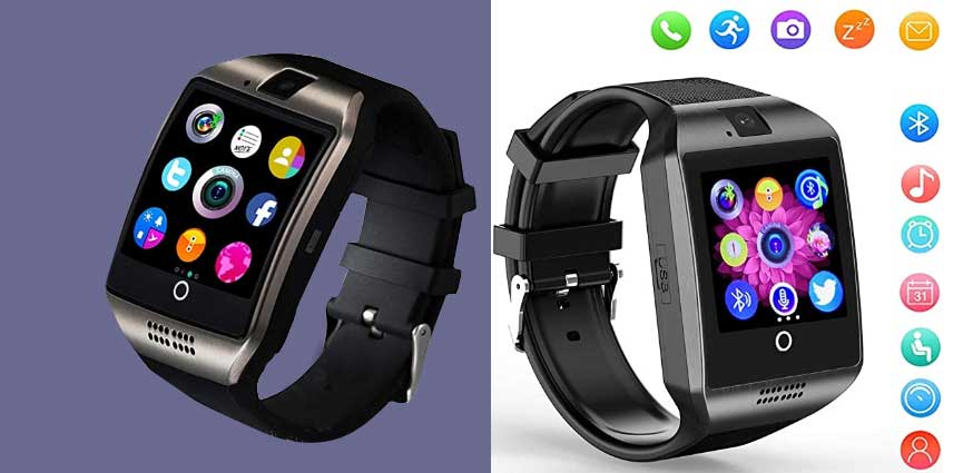 Touchscreen Smartwatch with Camera